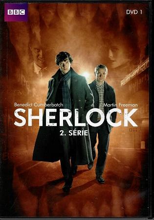 Sherlock 2. série DVD 1 ( slim ) DVD