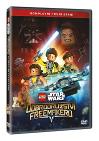 LEGO Star Wars: Dobrodružství Freemakerů 1. série 2DVD ( plast ) DVD