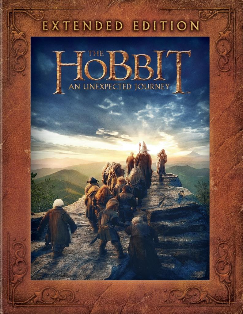 The Hobbit - An Unexpected Jurney - Extended Edition / Hobbit - Neočekávaná cesta - 5xDVD /multidigipack v šubru/