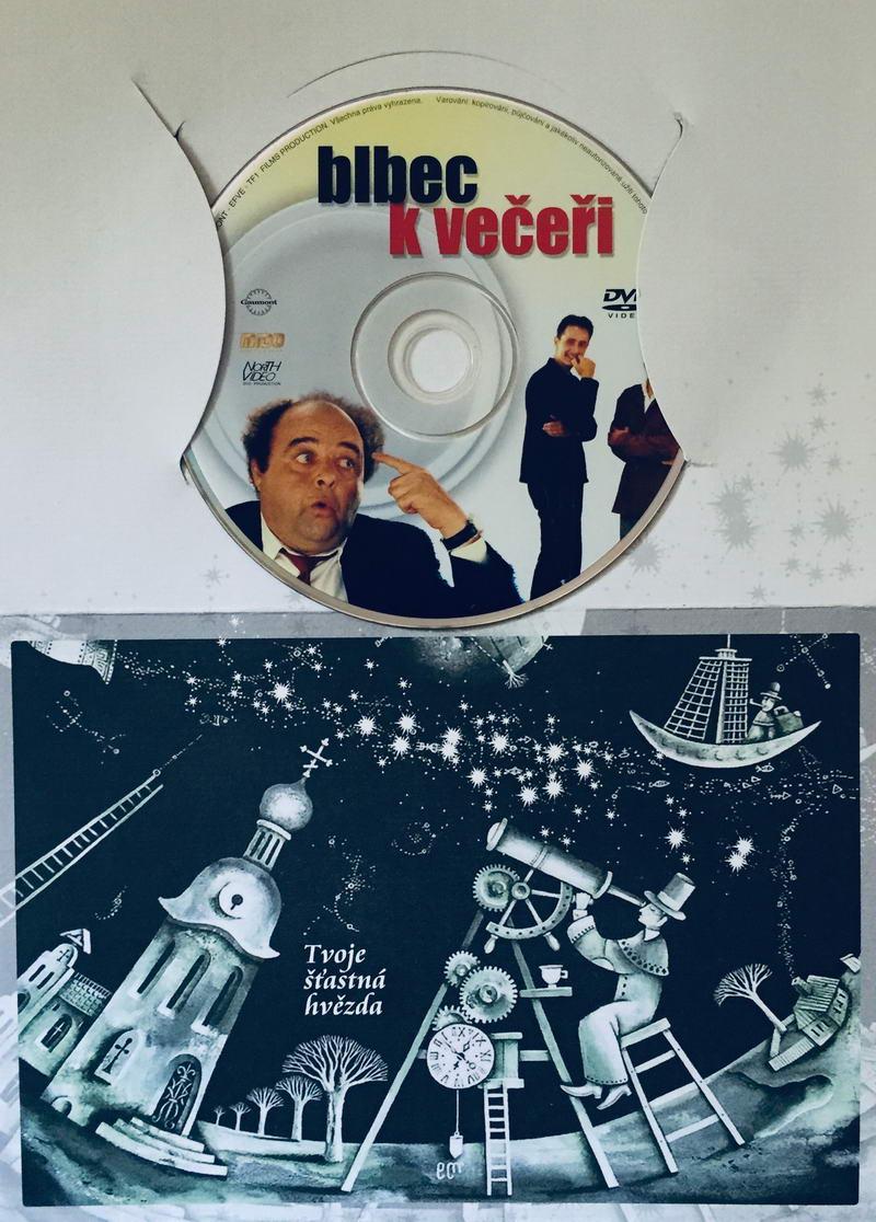 Blbec k večeři - DVD /dárkový obal/