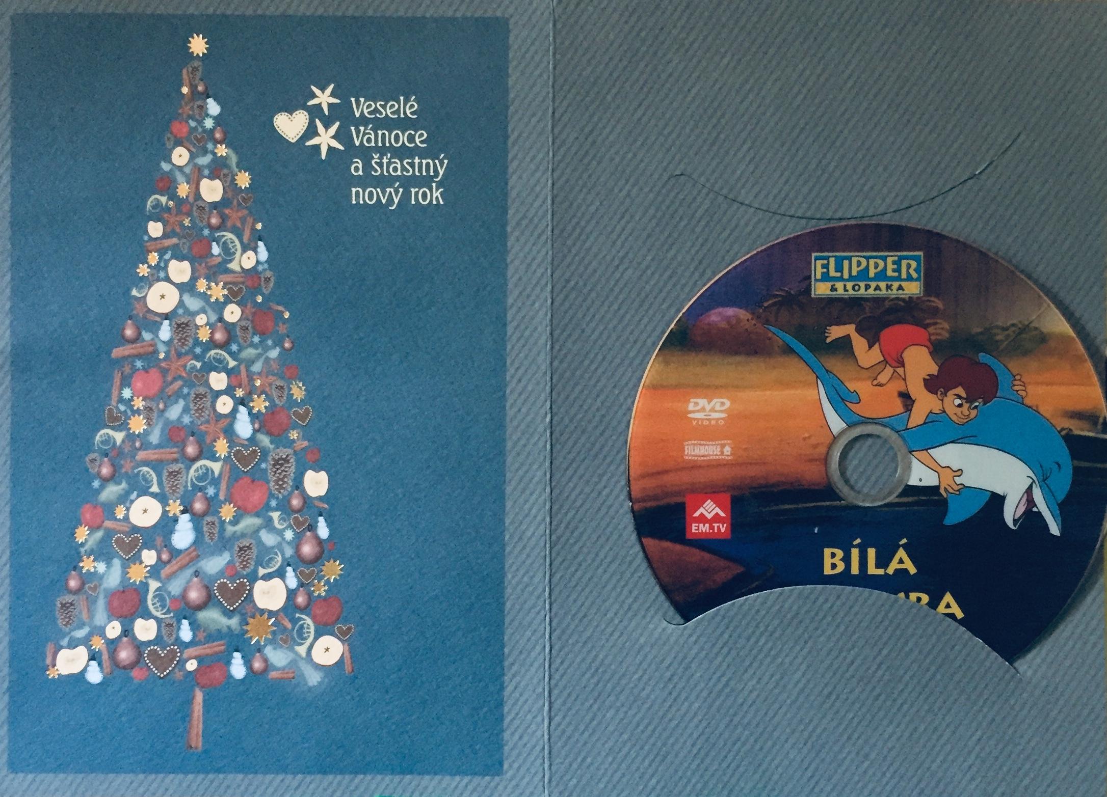 Flipper & Lopaka  - Bílá velryba - DVD /dárkový obal/
