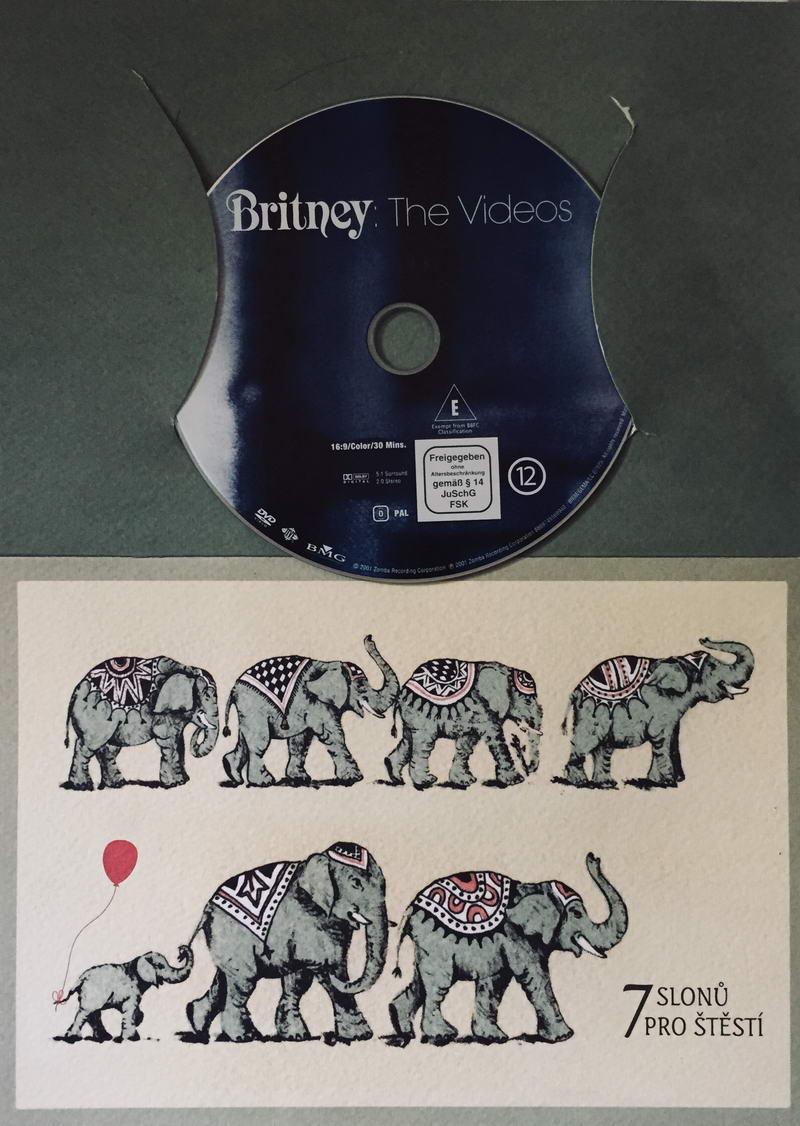 Britney: The Videos - DVD /dárkový obal/