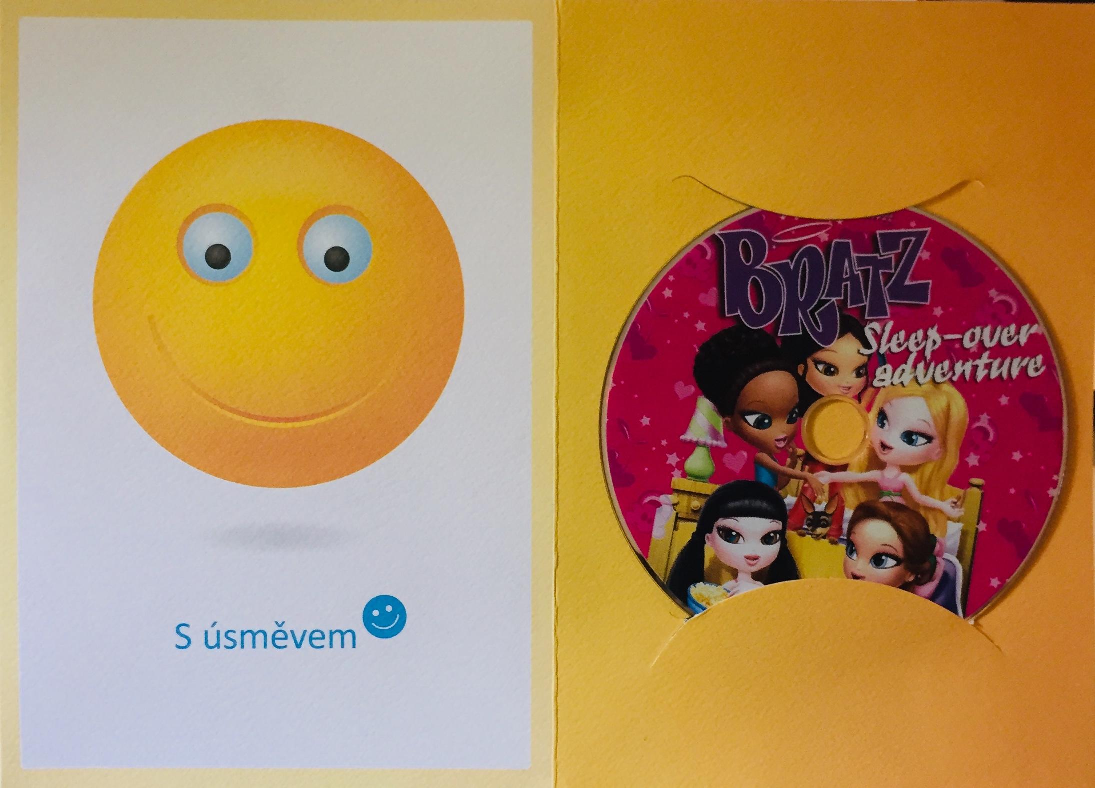 Bratz - Pyžamová párty - DVD /dárkový obal/
