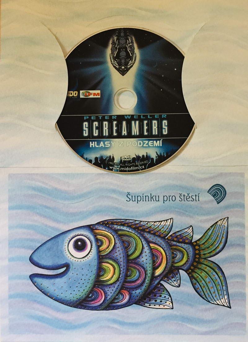 Screamers - Hlasy z podzemí - DVD /dárkový obal/