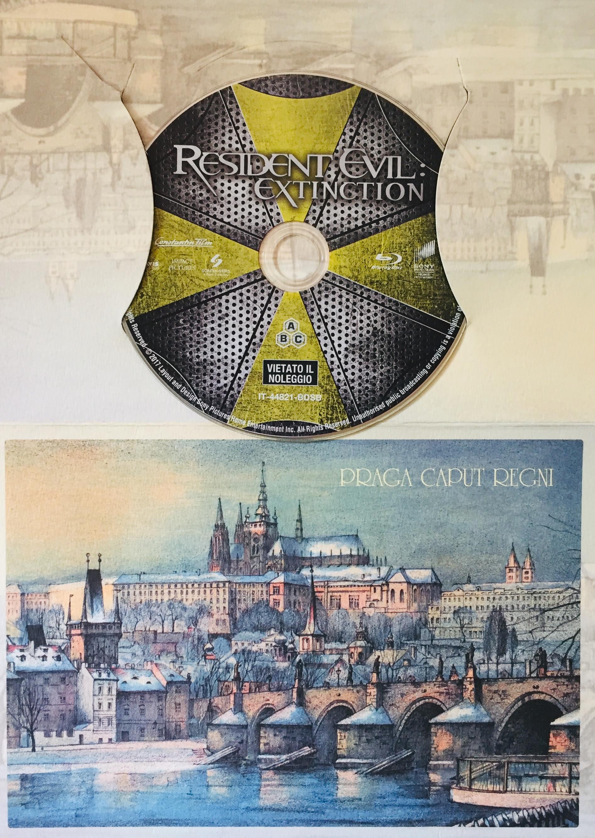 Resident Evil - Extinction - Blu-ray Disc /dárkový obal/