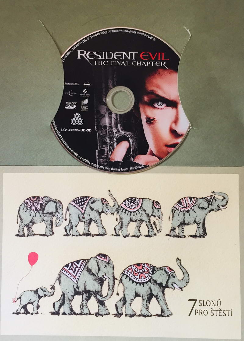 Resident Evil - The Final Chapter - Blu-ray Disc /dárkový obal/