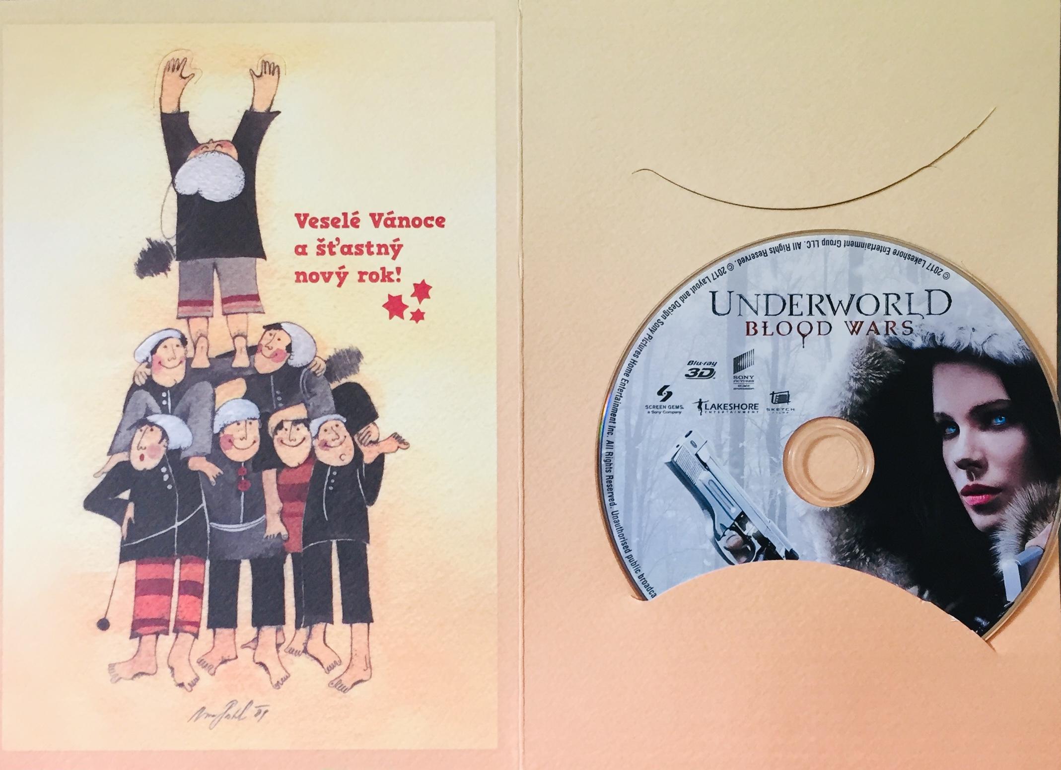 Underworld - Blood Wars - Blu-ray Disc /dárkový obal/
