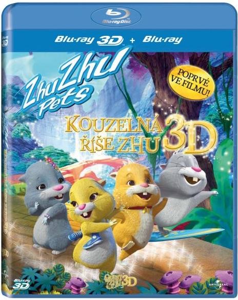 Kouzelná říše Zhu 3D - Blu-ray Disc