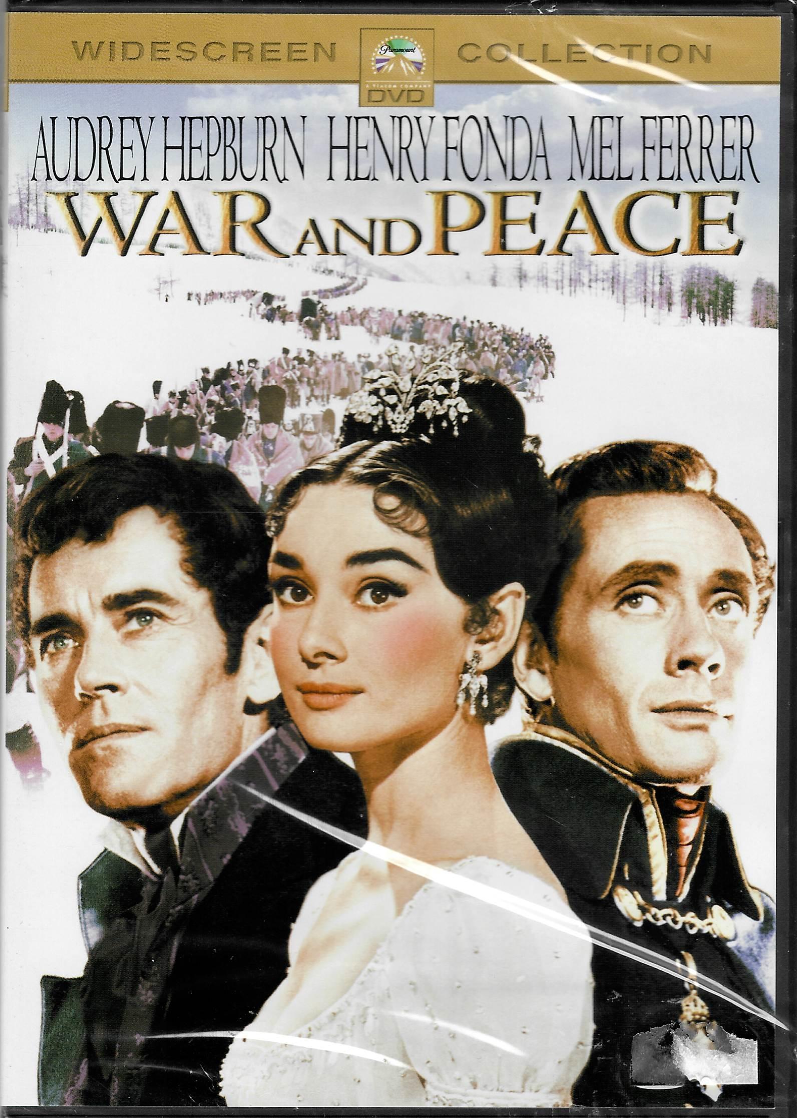 War and Peace ( Vojna a Mír)  - DVD plast