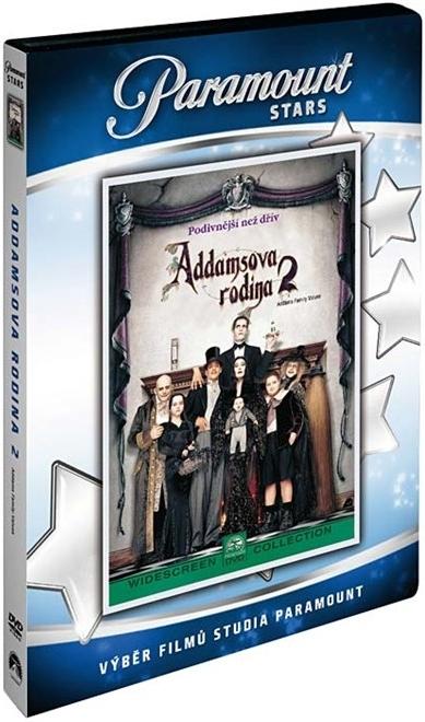 Addamsova rodina 2 ( plast ) DVD