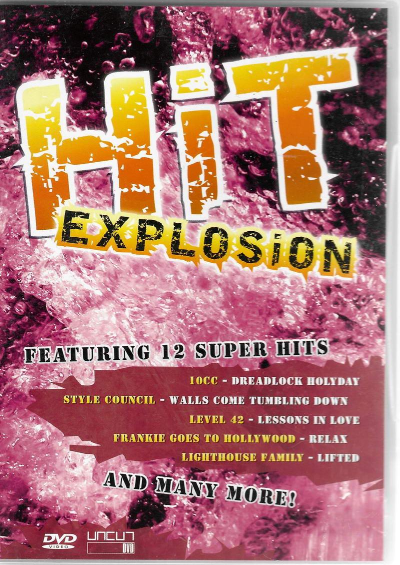 HIt explosion - DVD plast
