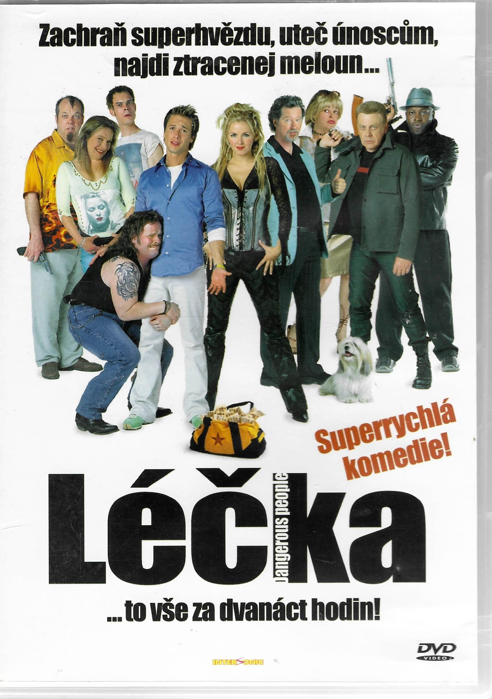 Léčka - DVD plast