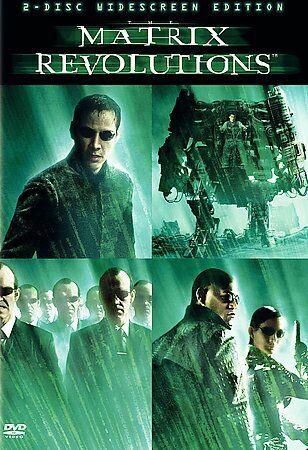 Matrix Revolutions - Double Disc Set - v originálním znění bez CZ titulků - 2xDVD /plast/