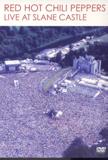 Red Hot Chili Peppers - Live At Slane Castle - DVD /plast/