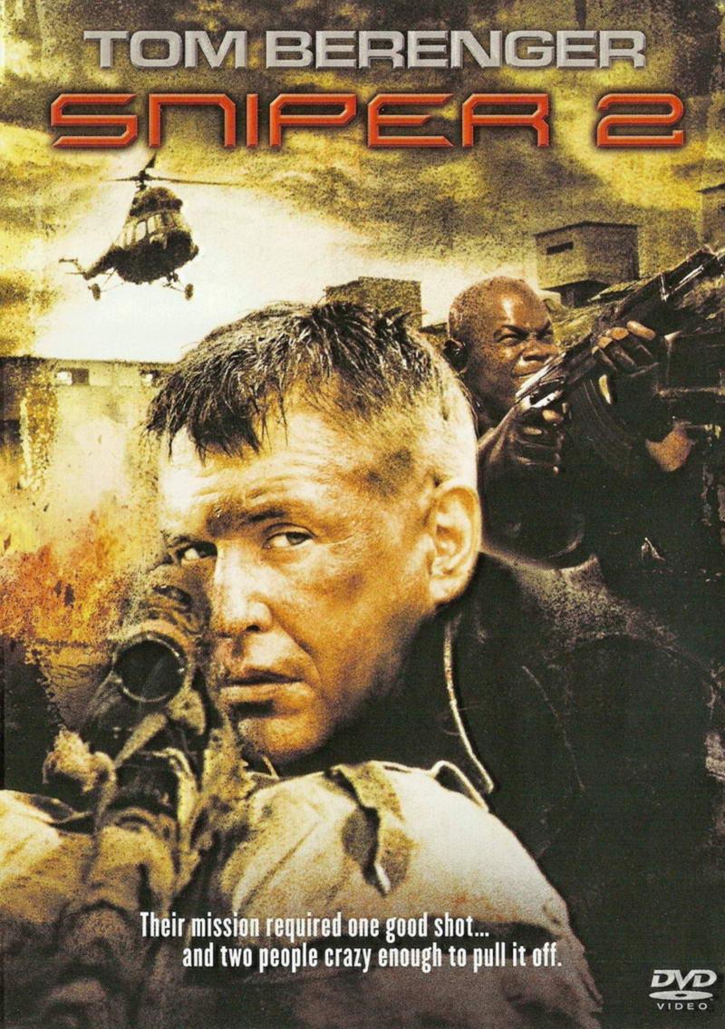 Sniper II - v originálním znění bez CZ titulků - DVD /plast/