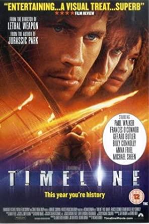 Timeline - v originálním znění bez CZ titulků - DVD /plast/