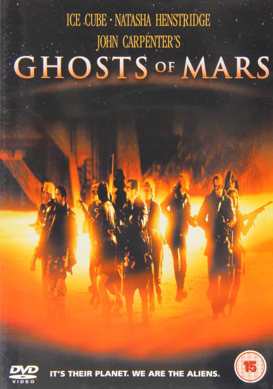 Ghosts of Mars - v originálním znění bez CZ titulků - DVD /plast/