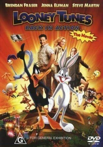 Looney Tunes - Back in Action - v originálním znění bez CZ titulků - DVD /plast/