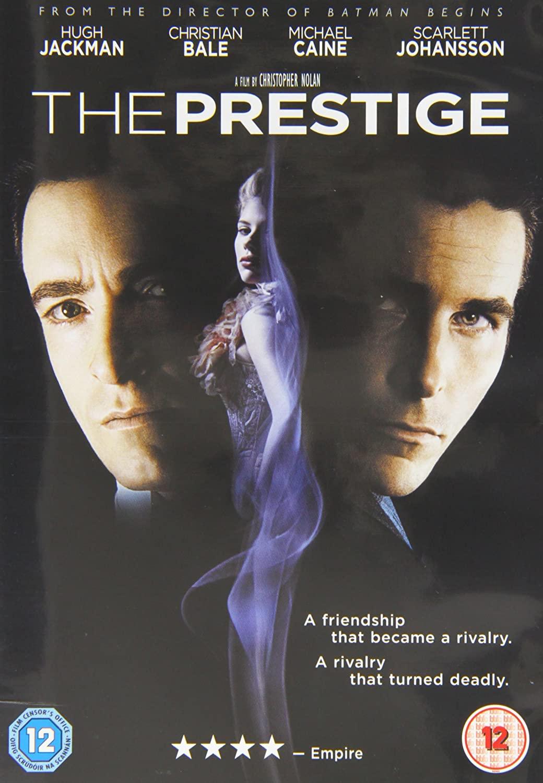 The Prestige - v originálním znění bez CZ titulků - DVD /plast/
