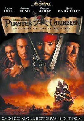Pirates of the Caribbean - The Curse of the Black Pearl - 2-Disc Collector's Edition - v originálním znění bez CZ titulků - 2xDVD /plast/