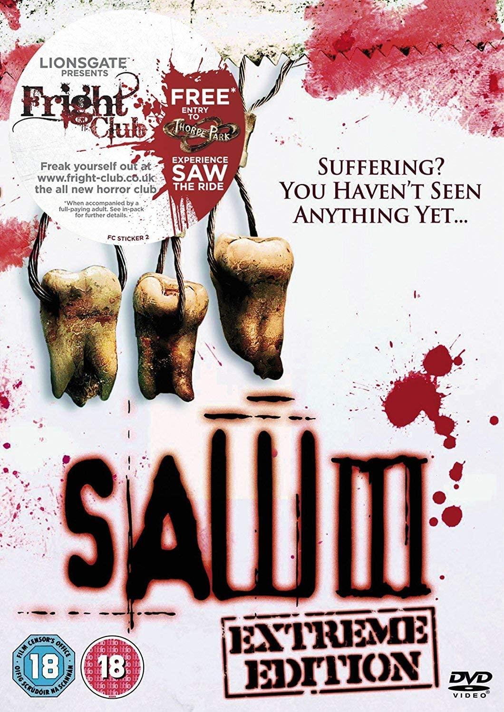 Saw III - v originálním znění bez CZ titulků - DVD /plast/