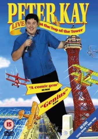 Peter Kay Live at the Top of the Tower - v originálním znění bez CZ titulků - DVD /plast/