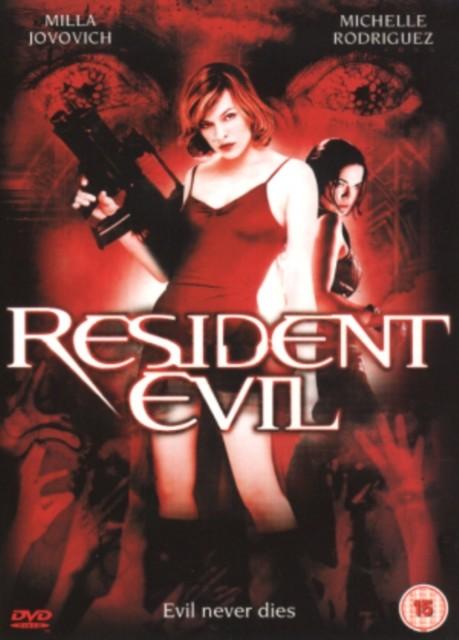 Resident Evil - v originálním znění bez CZ titulků - DVD /plast/