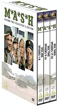 M*A*S*H - Season Two Collector's Edition - v originálním znění bez CZ titulků - 3xDVD /3xplast v šubru/