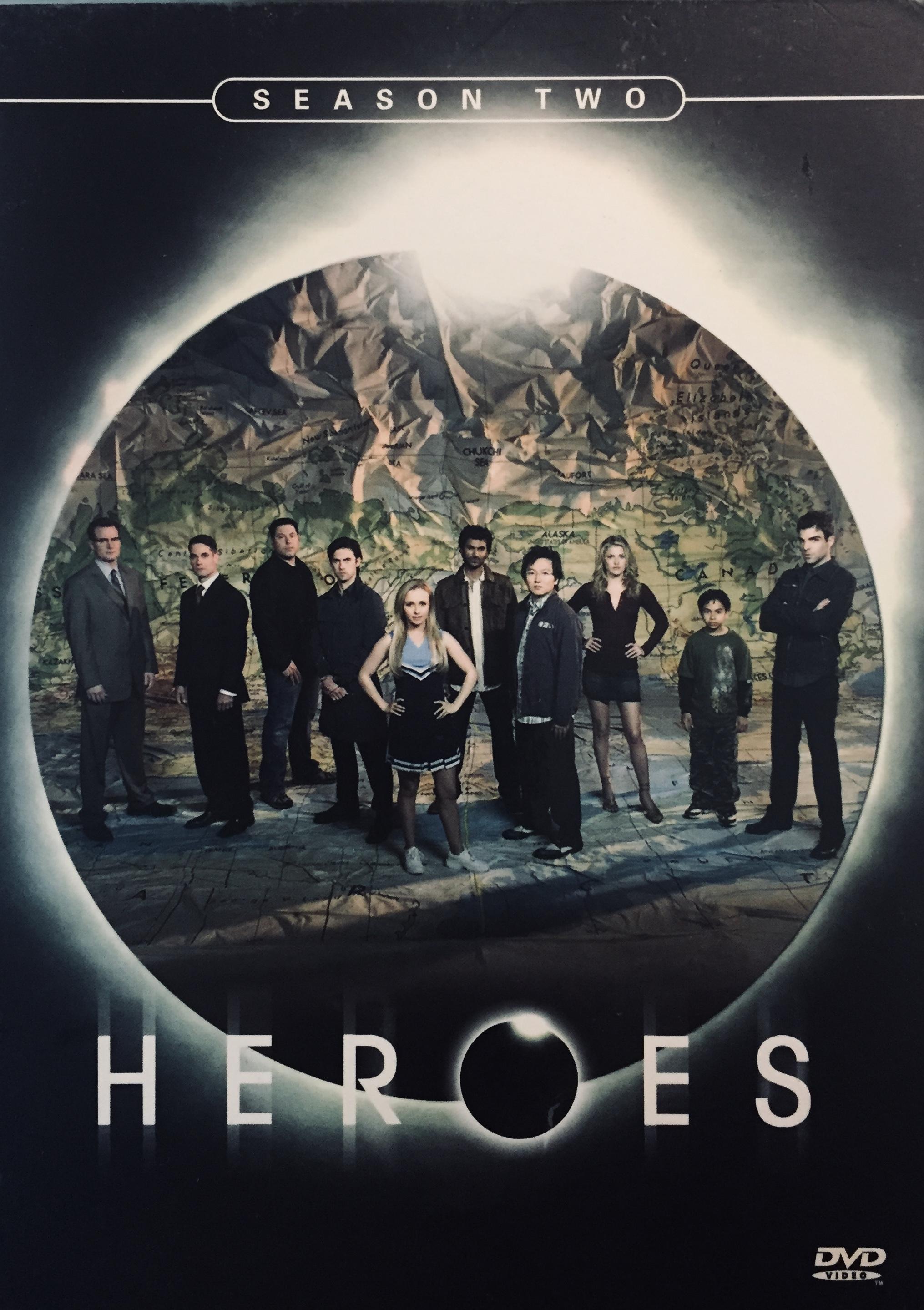 Heroes - Season Two - v originálním znění bez CZ titulků - 6xDVD /karton obal/