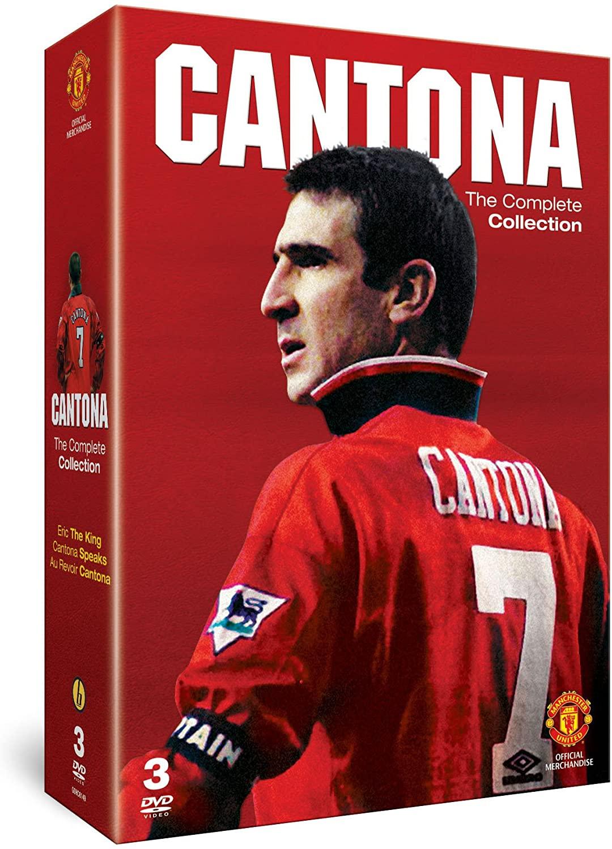 Cantona - The Complete Collection - v originálním znění bez CZ titulků - 3xDVD /3xplast v šubru/bazarové zboží/