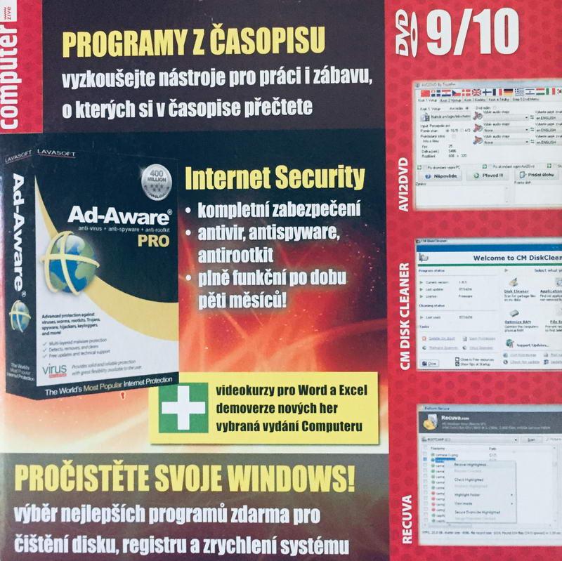Computer 9/10 - DVD-ROM /pošetka malá/