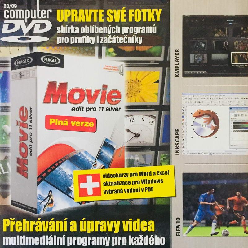 Computer 20/09 - DVD-ROM /pošetka malá/