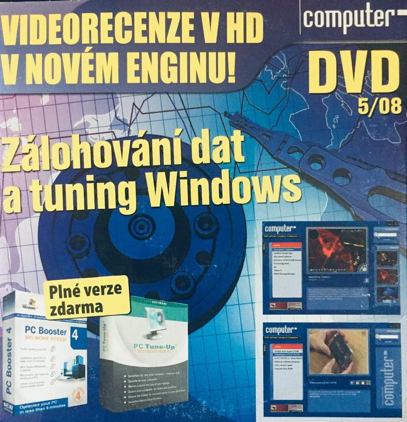 Computer 5/08 - DVD-ROM /pošetka malá/