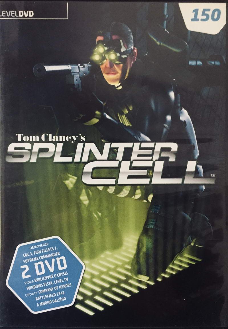 Tom Clancy's Splinter Cell - 2xDVD-ROM /slim/