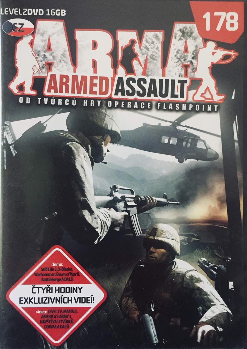 Arma - Armed Assault - 2xDVD-ROM /slim/