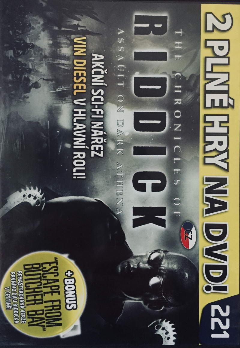 The Chronicles of Riddick - Assault oon Dark Athena - DVD-ROM /slim/