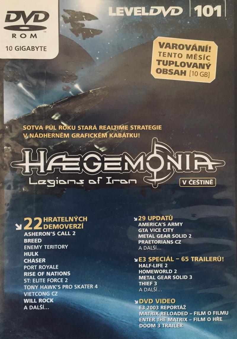 Haegemonia - Legions of Iron - DVD-ROM /plast/