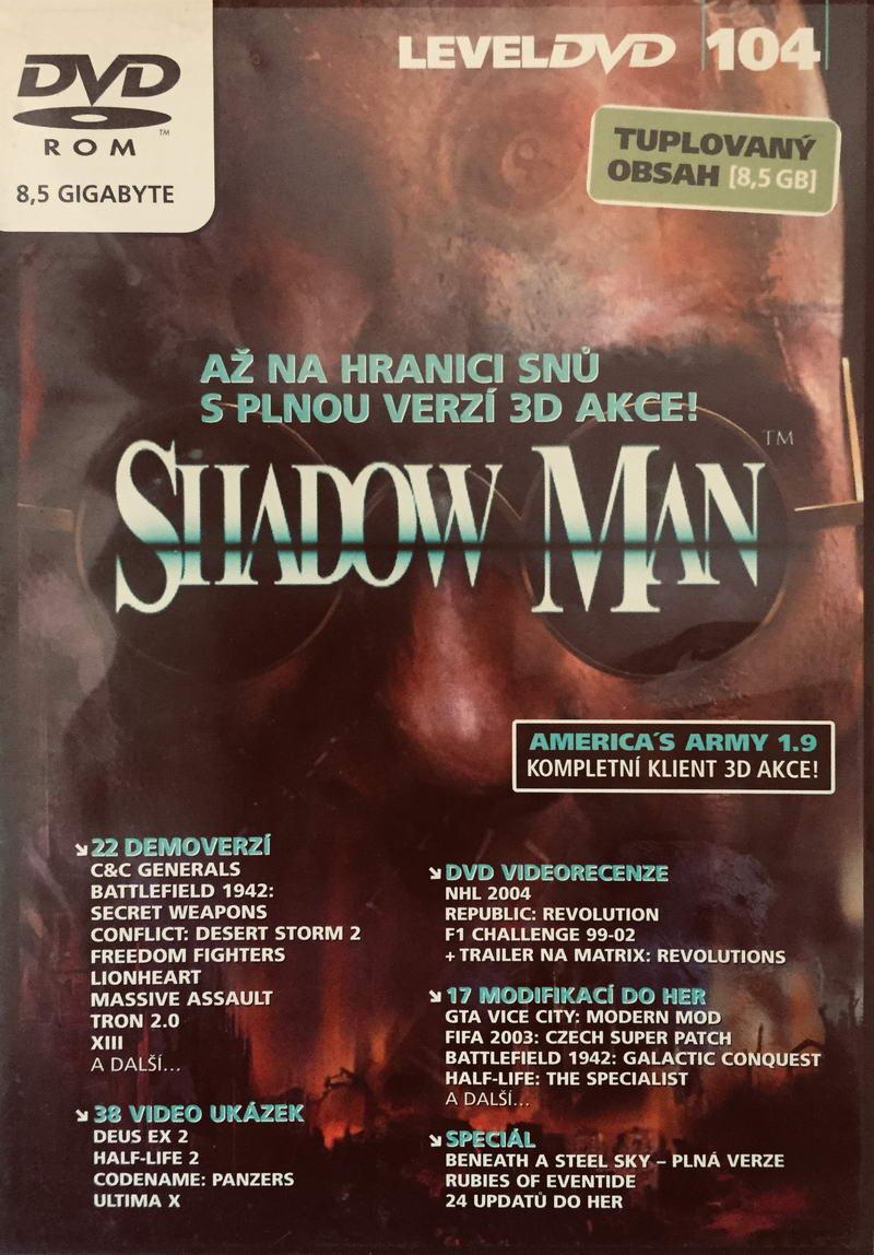 Shadow Man - DVD-ROM /plast/