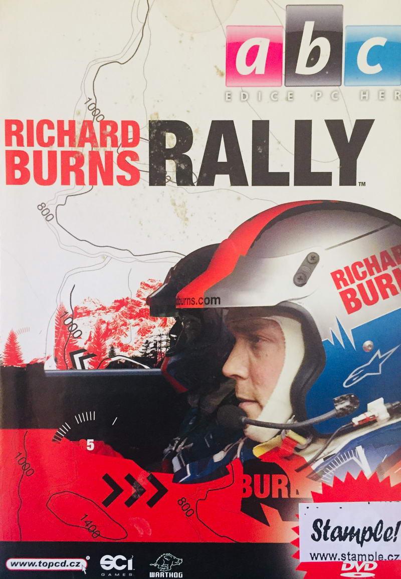 Richard Burns Rally - DVD-ROM /pošetka/bazarové zboží/