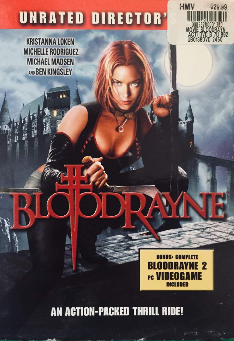 Bloodrayne - 2xDVD-ROM /plast v šubru/bazarové zboží/