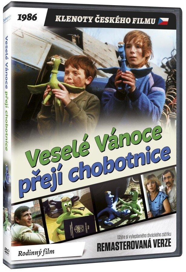 Veselé Vánoce přejí chobotnice (remasterovaná verze) - DVD plast