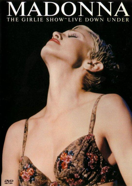 Madonna - The Girl Show - Live Down Under - DVD /plast/