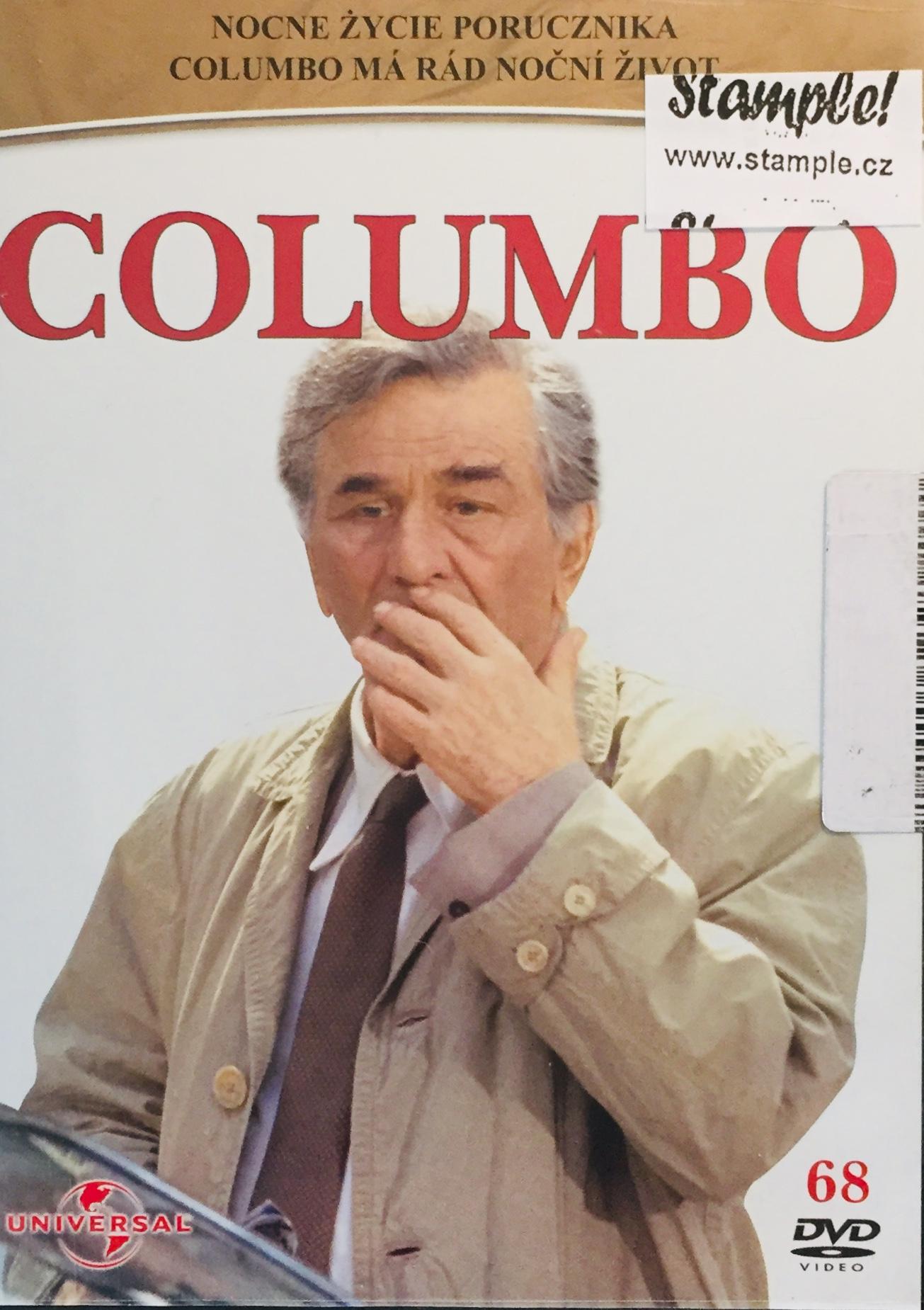 Columbo 68 - Columbo má rád noční život - DVD /slim/