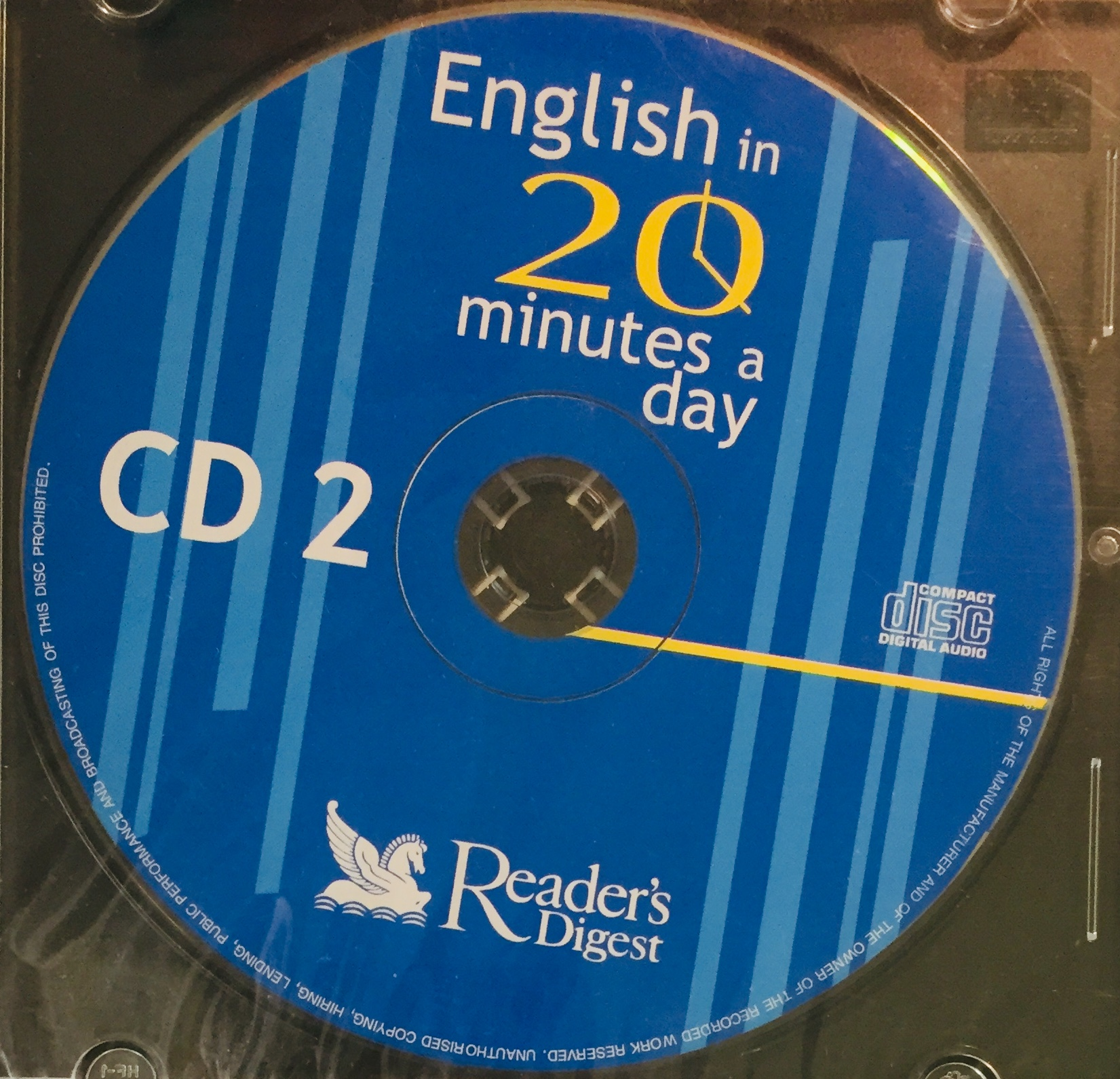 English in 20 minutes a Day - CD 2 - CD /slim/