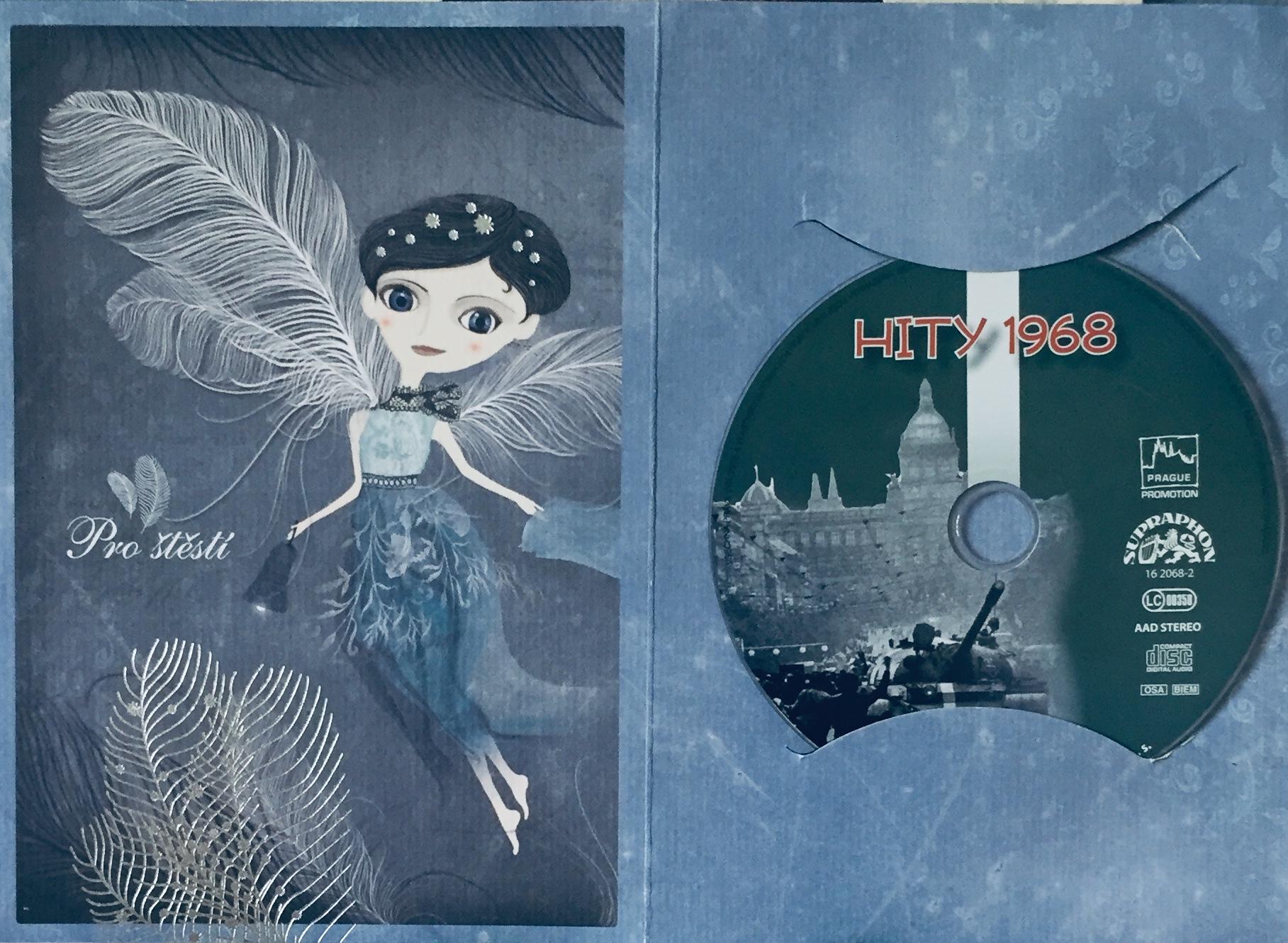 Hity 1968 - CD /dárkový obal/