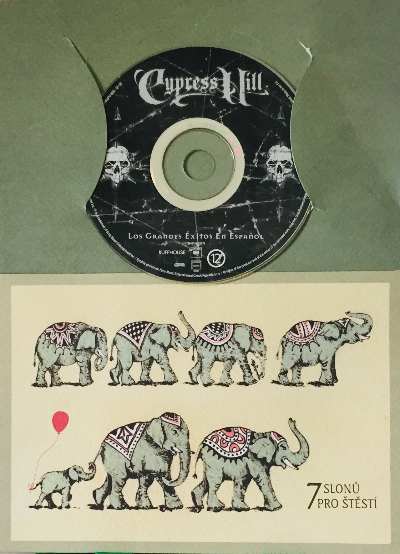 Cypress Hill - Los Grandes Éxitos En Espaňol - CD /dárkový obal/