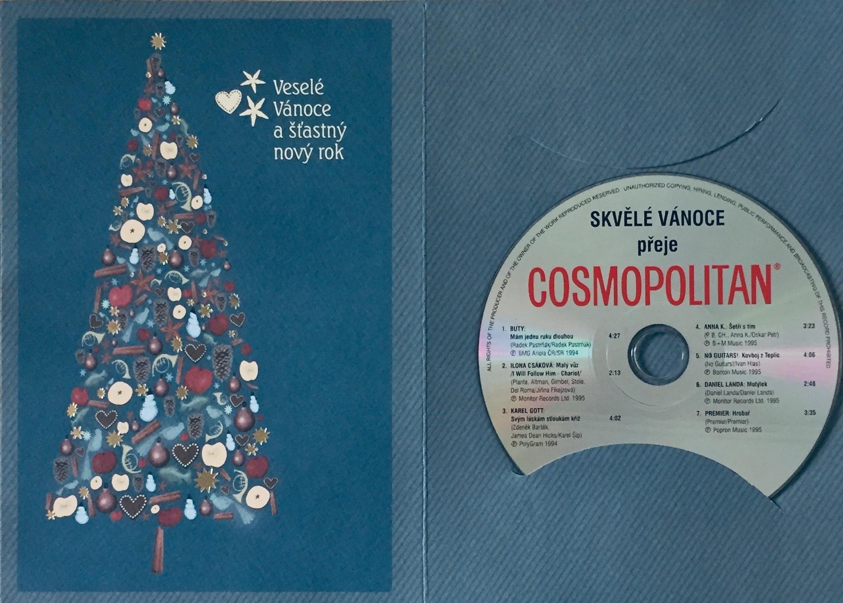 Cosmopolitan - Skvělé vánoce přeje - CD /dárkový obal/