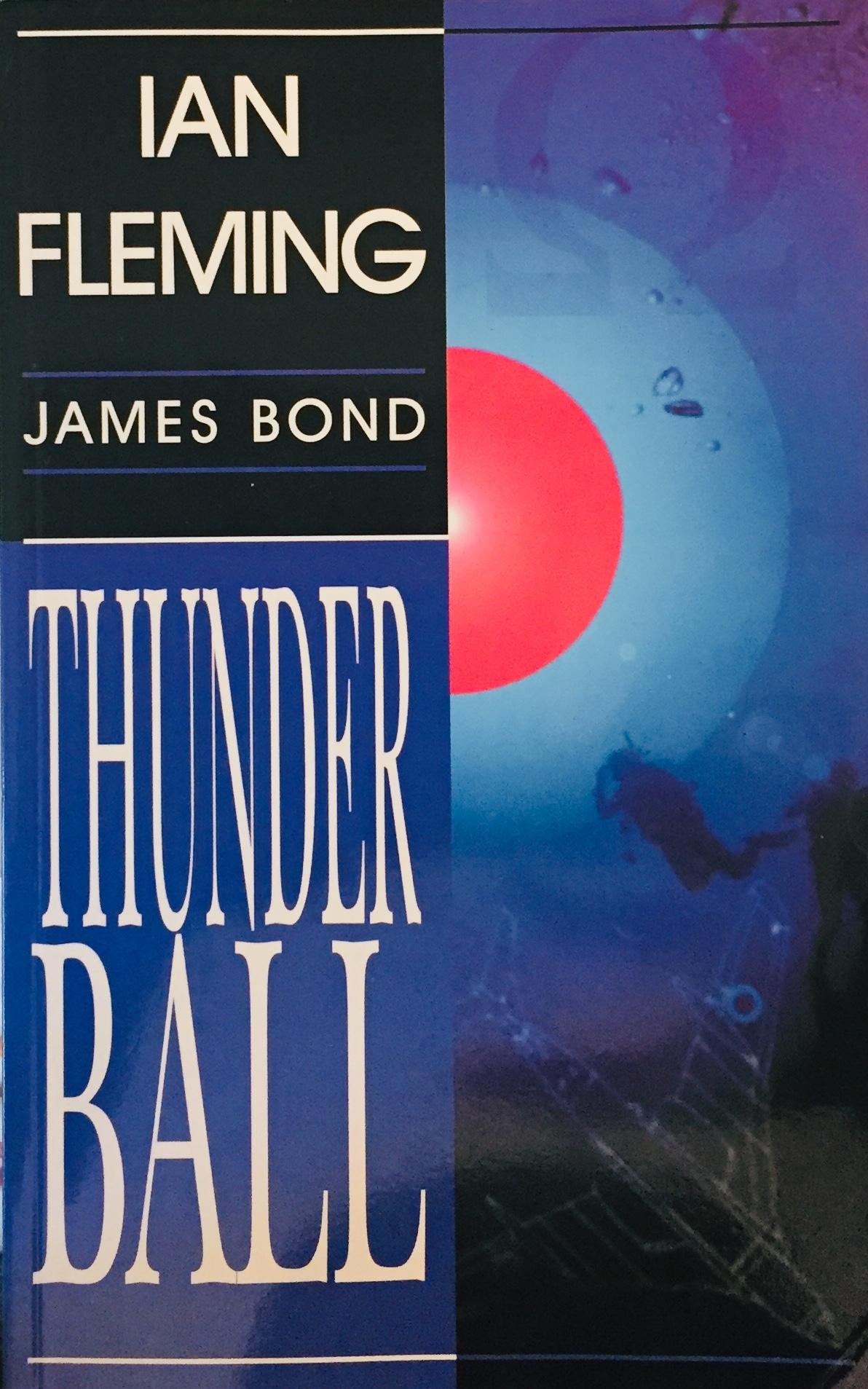 James Bond - Thunderball - Ian Fleming /bazarové zboží/