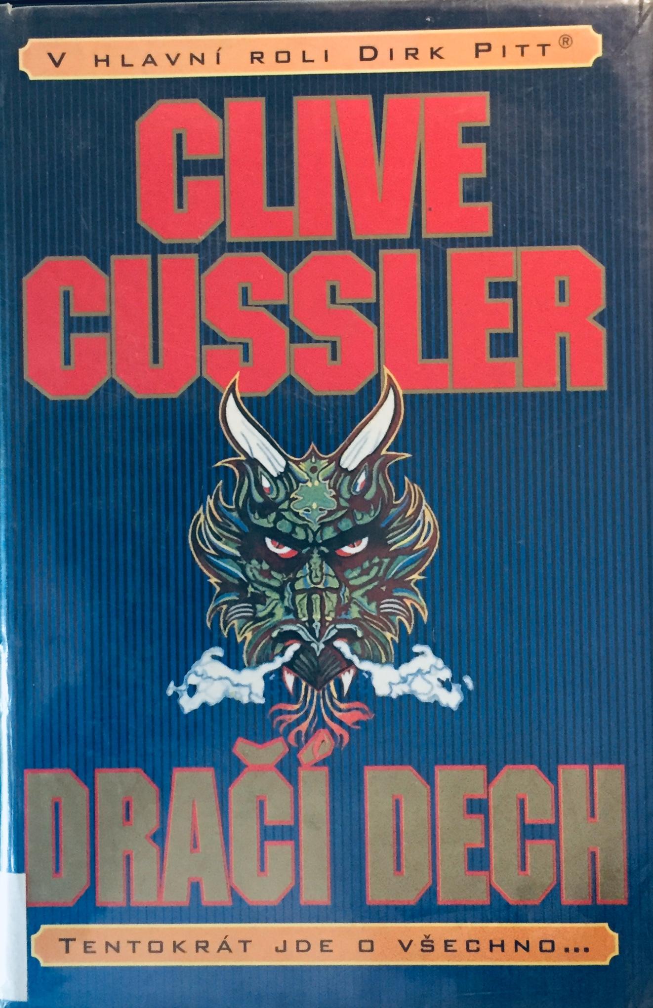 Dračí dech - Clive Cussler /bazarové zboží/