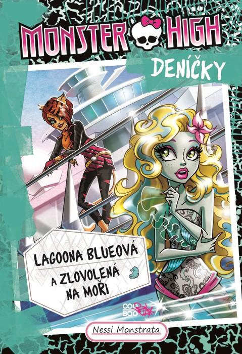 Monster High deníčky 3 – Lagoona Blueová a zlovolená na moři - Nessi Monstrata